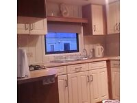 3 bedroomed caravan ingoldmells to let 5 mins from fantasy island and market