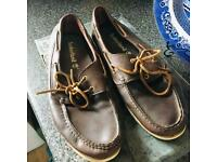 Timberland deck shoes size 12
