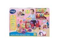 BRAND NEW VTech baby push & ride alphabet train