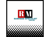 RM Business Specialist Ltd for graphics,photography and digital media