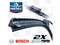 Smart ForTwo Bosch Aerotwin Front Wiper Blades AR17/AR15