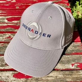 Grenadier cap (brand new)+ patches & stickers