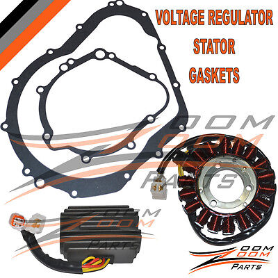 NEW! SUZUKI GSXR600 GSX-R600 GSXR 600 STATOR VOLTAGE REGULATOR GASKET 2006-2007