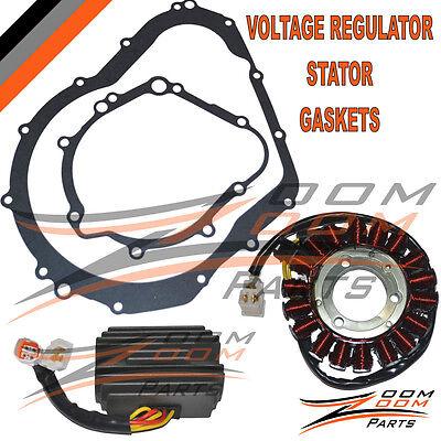 - New Suzuki GSXR600 GSX-R600 GSXR 600 STATOR VOLTAGE REGULATOR GASKET 2006-2007