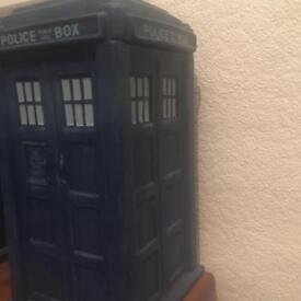 TARDIS cookie jar and 11th sonic screwdriver