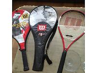 Wilson Tennis Rackets x2