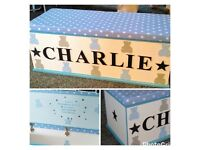 ⭐️💕Children's bespoke Toy Boxes💕⭐️