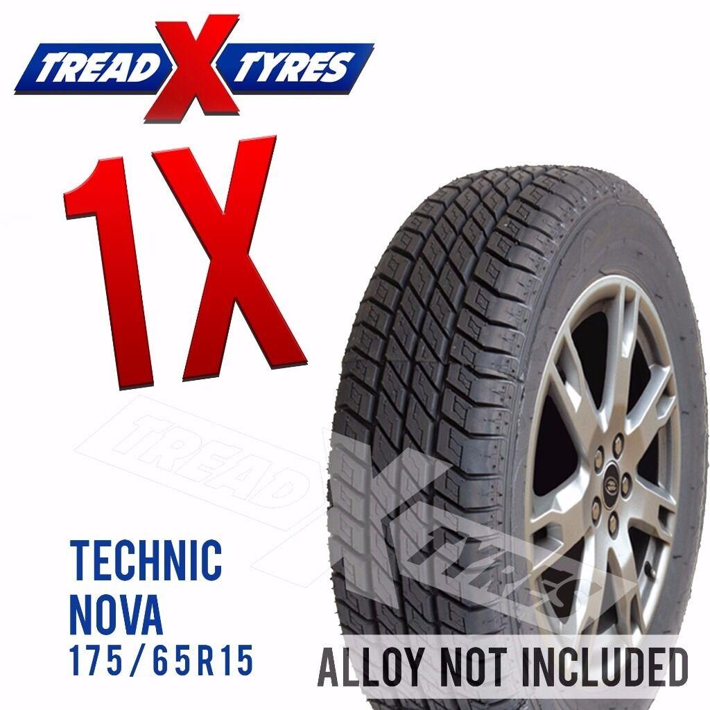 1 x New 175/65R15 Technic Nova Tyre - 175 65 15 - Fitting Available