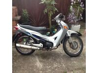 Honda ANF 125 12 months m.o.t