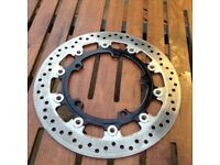 Unknown make motorcycle brake disks