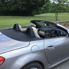 Slk 200 low mileage,auto gearbox,cruise control,heated seats,white leather,recently serviced,