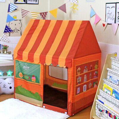 Juguete de Tienda Infantil Plegable Casa de Postre para Niños Niñas