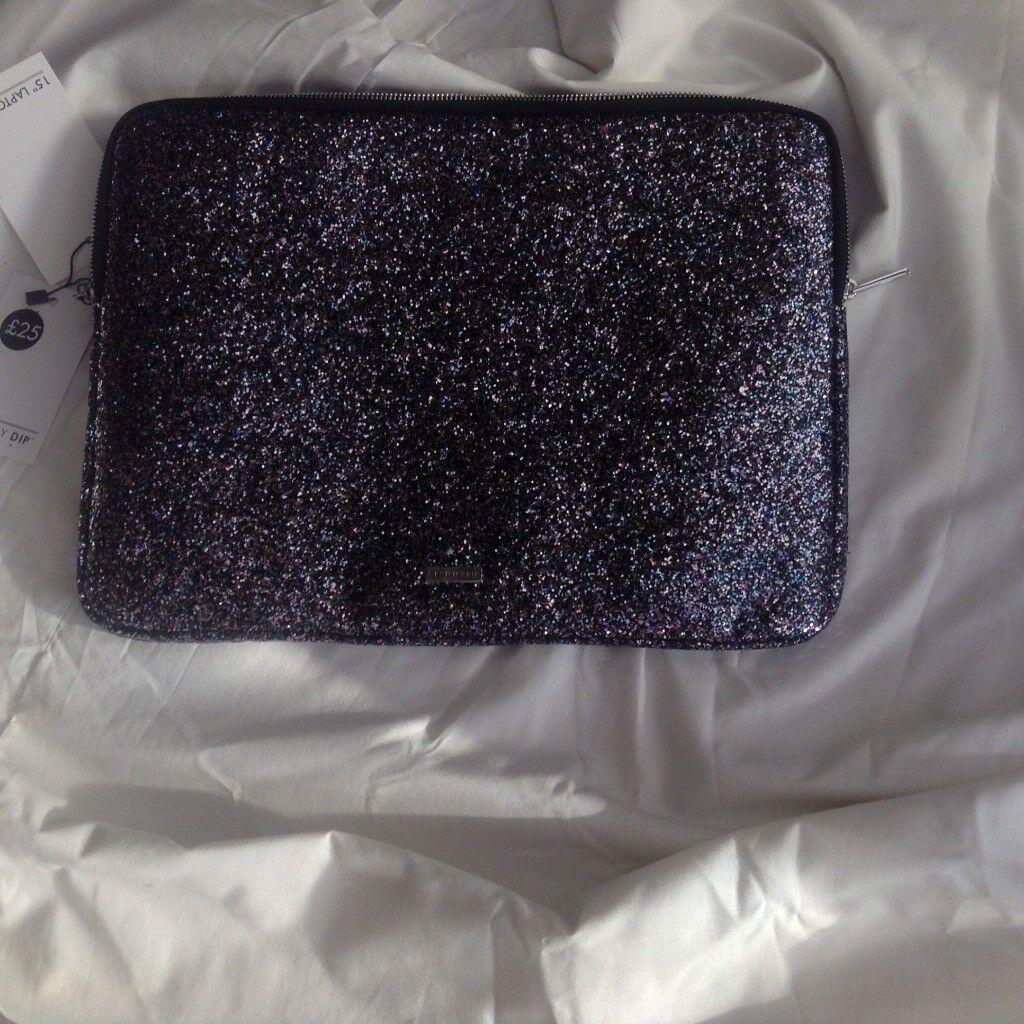 "Sparkly 15"" laptop case"