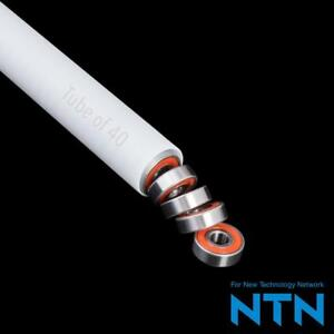 Ntn 8Mm Red Rubber Seal Moderate Speed For Ametek Lamb Motors Up To 23,000 Rpm Tube Of 40