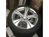 Golf Gti seat Leon 16inch nice alloys 150