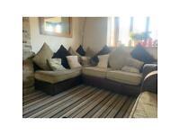 Left hand scs corner sofa