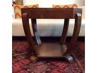 genuine vintage typical art deco occasional table 1930s