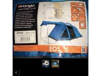 New Vango 5 man EOS 550SC tent - never out of carrybag