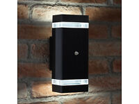 Exterior LED Wall light Aluminium Carcass Rust Free ...with Inbuilt Photocell