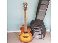 Yamaha apx 700 electro acoustic guitar, mint condition.