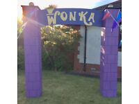 Gala Day Garden Decorations - Charlie and the Chocolate Factory / Wonka