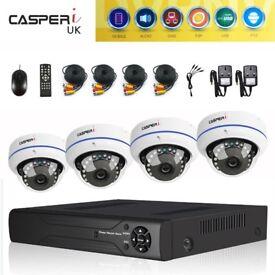 CCTV Security Camera System for Home/Shop 8CH 1080N AHD CCTV DVR 2.0MP 4xCameras