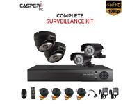 CCTV DVR Camera Security HD System 1080P Outdoor Video HDMI 4ch 1080N Home kit