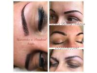 Microblading, Ombre brows, Eyelashes extension