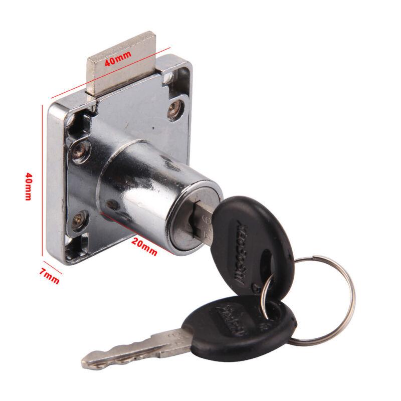 Cam Lock For Door Cabinet Mailbox Drawer Cupboard 2 Locks
