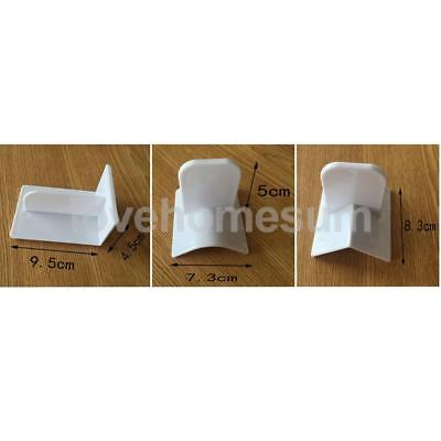 3 Stück weißer praktischer Kuchen glatter scharfer Top Edger Dekoration