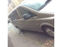 Mercedes Benz Vito Traveliner 111cdi full leather dvd sat nav 9 seater