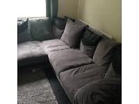 Brand new right handed dino corner sofa