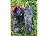 Shimano SPD cycling shoes. 48.