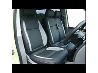 MINICAB LEATHER CAR SEAT COVERS TOYOTA PRIUS FORD GALAXY VOLKSWAGEN SHARAN SHARON VW