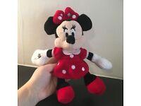 Disney Minnie Mouse Light Up Plush
