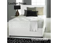 Faux leather Divan Bed Sets