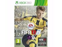 fifa 17 xbox 360 video game new