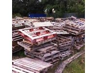 FREE Pallets - Great for firewoood and DIY projects