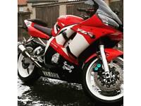 YAMAHA R6 600cc Low miles