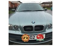 Automatic BMW 318ti with long MOT