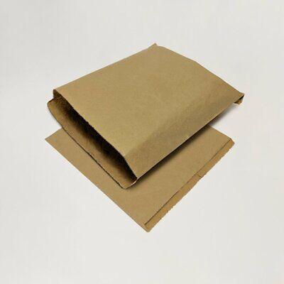 1000 x Brown Kraft Strung Paper Bags 7 x 9
