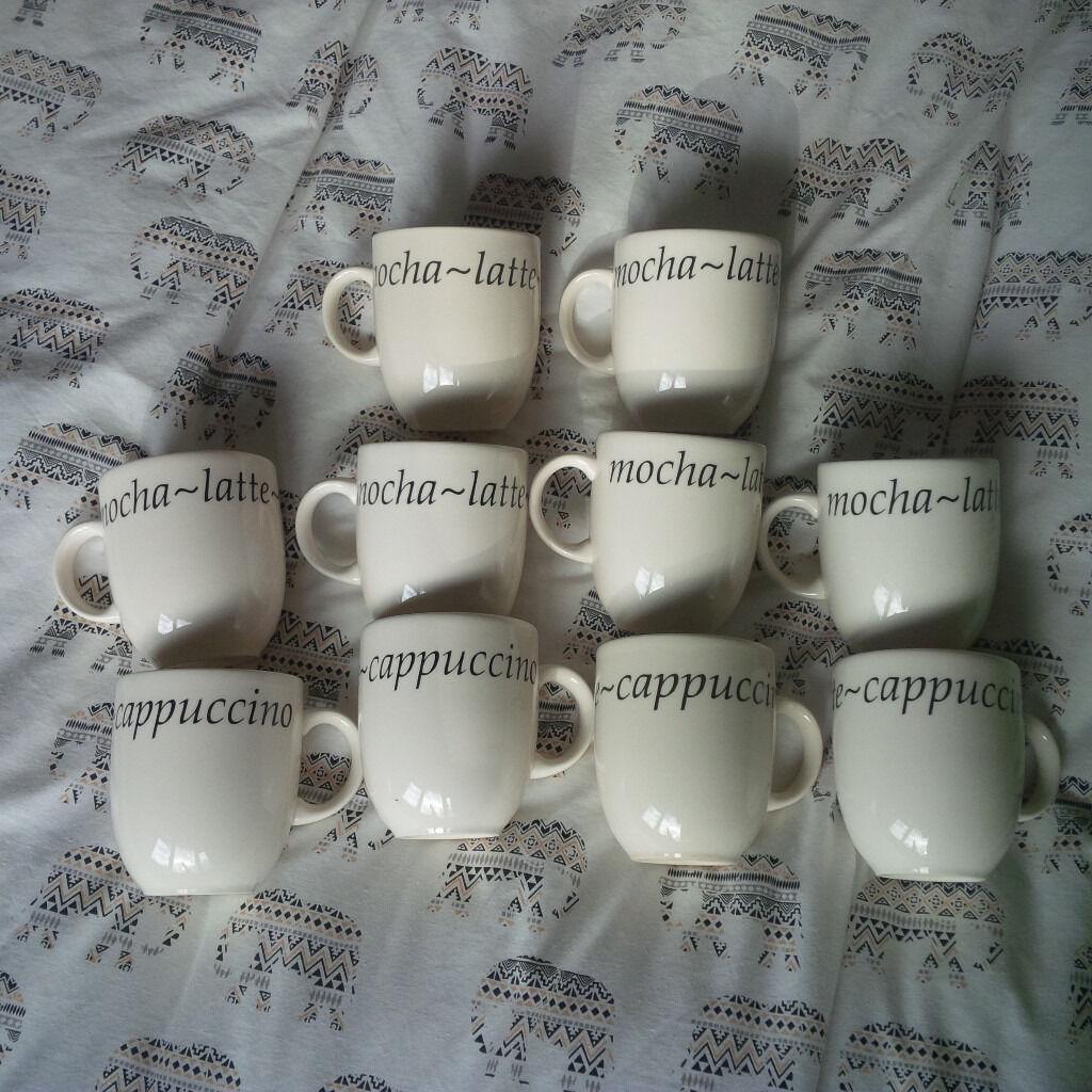 10 X Creative Tableware Italian Mugs Cups & 10 X Creative Tableware Italian Mugs Cups   in Biddulph ...