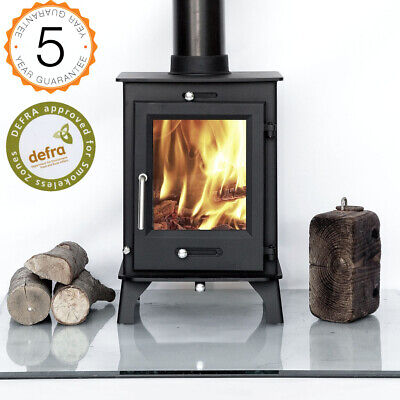 Defra Approved 80% Efficient Ottawa 5kw Multi-Fuel, Woodburning Stove Stoves