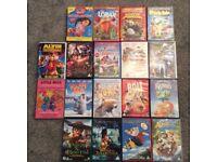 CHILDREN/KIDS DVDS 50P EACH
