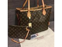 Louis Vuitton Monogram Neverfull Handbag