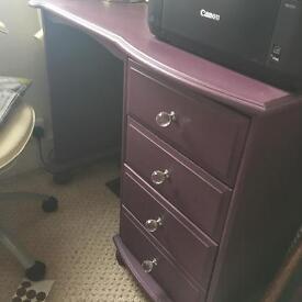 Purple desk for sale