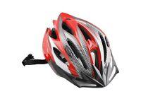 (1666) LIGHTWEIGHT CYCLING HELMET VISOR; ADULT YOUTH BIKE BICYCLE HELMET SIZE: L, 58-61cm