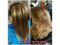 Hairdresser and lash stylist