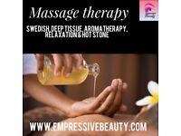 Massage & facial treatments