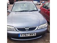 Vauxhall Vectra , 2001 , Grey FSH, spares or repair